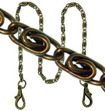 purse chain hndl48bk 120 ea bnsil - Decorative Chain